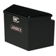 Delta Pro/JOBOX 423002D 48 in. Long Steel Trailer Tongue Box - Black