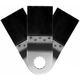 Rockwell RW8935.3 Sonicrafter 1-3/8 in. Precision End Cut Wood Blade (3-Pack)