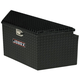 Delta Pro/JOBOX 415002D 33 in. Long Aluminum Trailer Tongue Box - Black