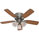 Hunter H23857 Low Profile III Plus 42 in. Antique Pewter Ceiling Fan with Light