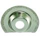 Rockwell RW8926 Sonicrafter 2 - 1/ in. Diamond Coated Semi-Circular Saw Blade