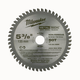 Milwaukee 48-40-4075 5-3/8 in. MetalTech Non-Ferrous Circular Saw Blade (50 Tooth)