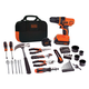 Black & Decker LDX120PK 20V MAX Cordless Lithium-Ion Drill and Project Kit