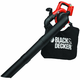 Black & Decker LSWV36B 40V MAX Cordless Lithium-Ion Single-Speed Handheld Mulcher Blower Vac (Bare Tool)