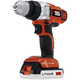 Black & Decker LDX220SBFC 20V MAX Cordless Lithium-Ion 3/8 in. 2-Speed Drill Driver Kit with Fast Charger