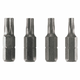Bosch IT60391 4-Piece 1 in. Impact Tough Torx Bit Set