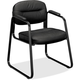 Basyx VL653SB11 CHAIR,SLED BSE GUEST,BK