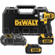 Dewalt DCF880L2 20V MAX Cordless Lithium-Ion 1/2 in. Impact Wrench with Detent Pin Anvil Kit