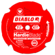 Diablo D0704DH 7-1/4 in. 4 Tooth Fiber Cement HardieBlade Saw Blade