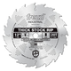 Freud LM71M012 12 in. 20 Tooth Thick Stock Rip Saw Blade