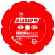Diablo D1208DH 12 in. 8 Tooth Fiber Cement HardieBlade Saw Blade