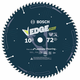 Bosch DCB1072 Daredevil 10 in. 72 Tooth Circular Saw Blade for Laminate and Melamine