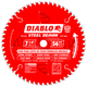 Diablo D0756F 7-1/4 in. 56 Tooth Steel Demon Ferrous Metals Saw Blade