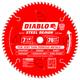 Diablo D0770F 7-1/4 in. 70 Tooth Steel Demon Ferrous Metals Saw Blade