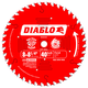 Diablo D0840X 8 in. - 8-1/4 in. 40 Tooth Finishing Saw Blade