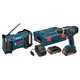 Bosch DDS181-02LPB 18V Cordless Lithium-Ion Drill Driver and Radio with L-BOXX2