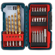 Bosch TS4023 23-Piece Titanium Drill and Drive Bit Assortment with Compact Brute-Tough Case