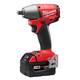 Milwaukee 2655B-22 M18 FUEL 18V Cordless Lithium-Ion 1/2 in. Impact Wrench with Ball Detent & XC Batteries