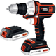 Black & Decker BDCDMT120-2 20V MAX Cordless Lithium-Ion Matrix Drill Driver with 2 Batteries