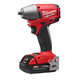 Milwaukee 2654-22CT M18 FUEL 18V Cordless Lithium-Ion 3/8 in. Friction Ring Impact Wrench Kit