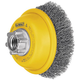 Dewalt DW4920 3 in. x 0.014 in. Carbon Steel Cup Brush