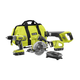 Factory Reconditioned Ryobi ZRP883 ONE Plus 18V Lithium-Ion 4 Tool Super Combo Kit