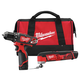 Factory Reconditioned Milwaukee 2495-82 M12 12V Cordless Lithium-Ion 3/8 in. Drill Driver and Multi-Tool Combo Kit