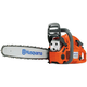 Husqvarna 965030296 Rancher 55.5cc Gas Fully Assembled 18 in. Rear Handle Chainsaw