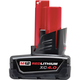 Milwaukee 48-11-2440 M12 12V REDLITHIUM XC4.0 12V 4.0Ah Extended Capacity Battery Pack