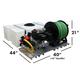 Diaphragm Pump Skid Sprayer- Low Profile 50gal