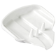 Bathroom Soap Dish, White