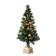 3' Musical Spinning Fiber Optic Tree by Holiday Peak™