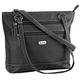 B.Amici™ Elisa RFID Black Leather Tote