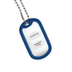 Medical Alert ID Tag Necklace Set of 2