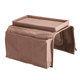 Armchair Caddy, Brown