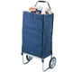 Deluxe Folding Carryall Cart, Blue