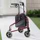 Easy Folding 3 Wheel Rollator Xl