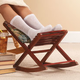 Foldable Rocking Footrest by OakRidgeTM Accents
