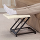 Adjustable Footrest with Removable Sherpa Cover
