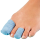 Antibacterial Gel Toe Pads - Set of 4 Blue