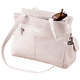 White Leather Handbag