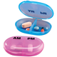 AM/PM Pocket Pill Organizer Set of 2