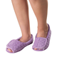 Open Toe Chenille Slippers