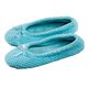 Chenille Ballet Slippers, Medium