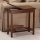 Chairside Storage Table by OakRidge Accents