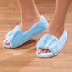 Easy Fit Open Toe Terry Slippers
