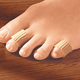 Gel Toe Cushions, Brown