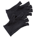 Carbon Technology Pain Checker Open Finger Gloves