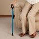 One Touch Stepless Height Adjustable Cane