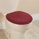 Sherpa Toilet Seat Lid Cover by OakRidge Comforts